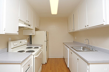 One Bedroom and Two Bedroom Kitchen
